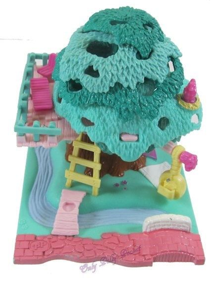 1994 Vintage Polly Pocket Tree House Bluebird by OnlyPollyPocket, $32.00