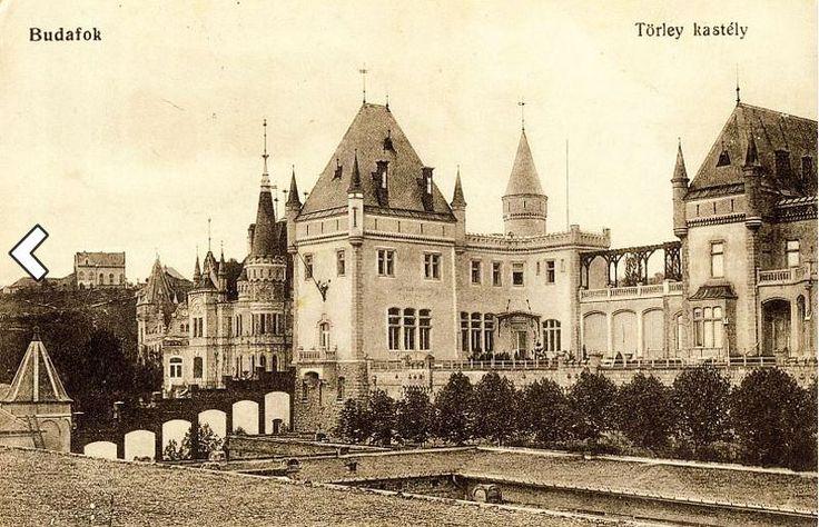 A Törley-kastély régen (Budafok) - Forrás: egykor.hu