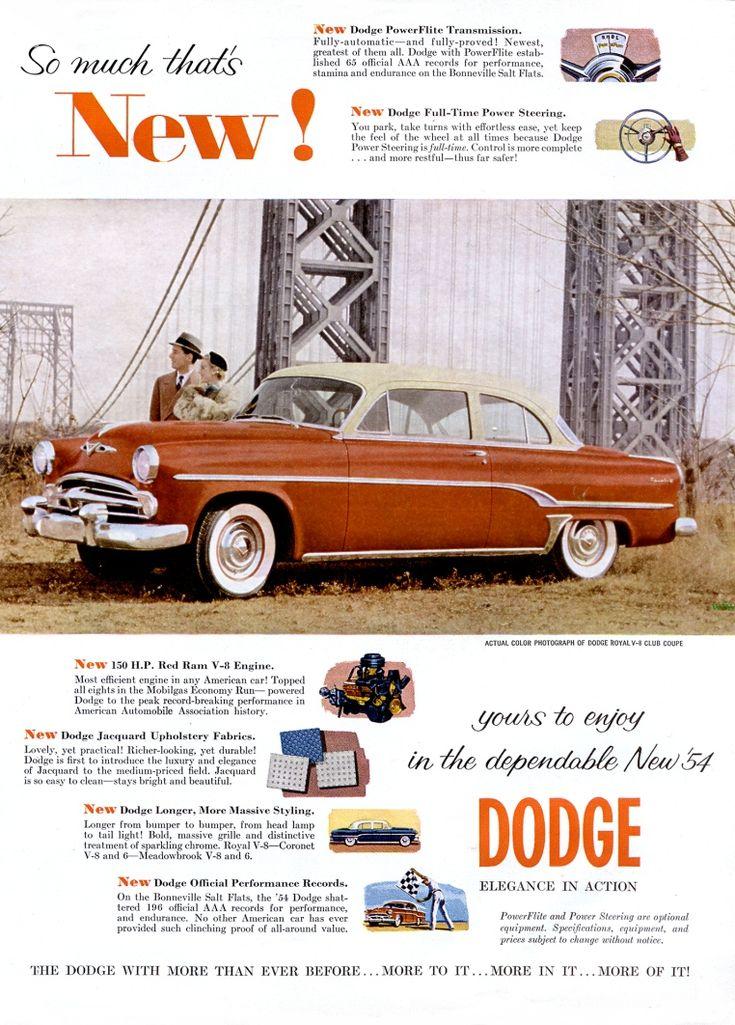 18 best dodge royal images on pinterest vintage cars old school 1954 dodge royal club coupe publicscrutiny Gallery