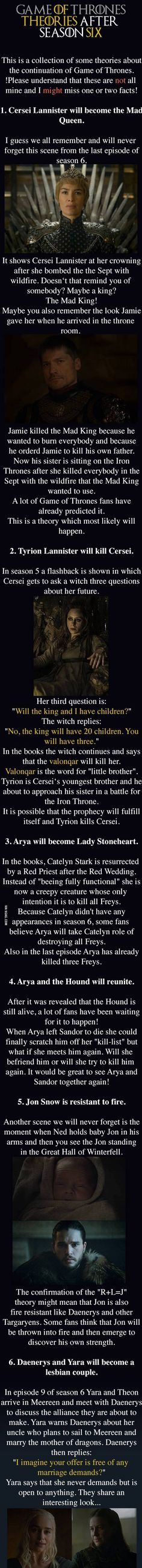 game of thrones theories that could be true