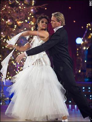 Alesha Dixon & Matthew Cutler; Alesha Dixon wins Strictly Come Dancing