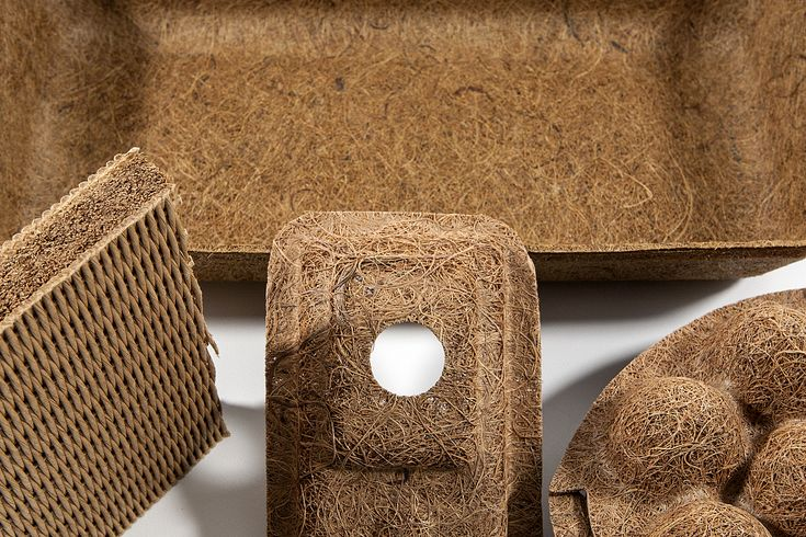 A Combination Of 60 Coir Coconut Fibres And 40 Natural