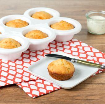 Essayez cette délicieuse recette de Muffins à la trempette ranch dès aujourd'hui !