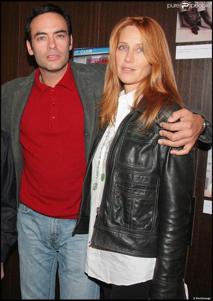 Exclusif - Anthony Delon et sa femme Sophie au concert de Charles Aznavour le 18 octobre 2007 à Paris