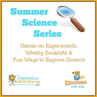 Awesome Summer Science for Kids - includes books & hands-on experiments for 6 science topics to explore this summer!