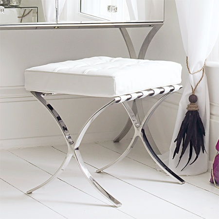 vanity chair for bathroom with wheels rail make stool dressing table graham