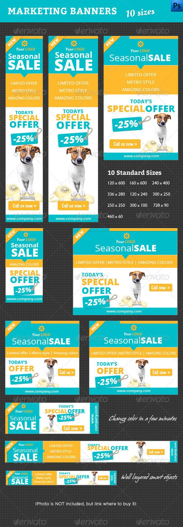 Marketing Web Banner Template PSD | Buy and Download: http://graphicriver.net/item/marketing-banner/4583387?WT.ac=category_thumb&WT.z_author=corrella&ref=ksioks