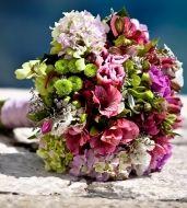Ocean Breeze Bridal Bouquet - Ocean Breeze Bridal Bouquet > View Full-Size Im... | Bouquet, Breeze, Ocean, Aud, Purchased | Bun