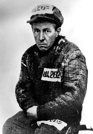 Alexandr Solzhenitsyn (1945-1950) Mandatory Credit: Photo by CSU Archives / Everett Collection / Rex Features ( 706314A ) Nobel Prize winning author Alexander Solzhenitsyn during the Gulag years 1945-1950. His most famous work, the Gulag Archipelago detailed the brutalities of the Stalinist regime in Russia and forced him into exile for 20 years until he returned to Russia after the fall of communism.