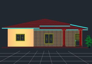 Name Type File size File format Area :- Four bed house plan :- House plan :- 514 kb :- DWG. (2004) :- 168.6 sqm Here is another Single story four bedroom small house plan from dwgnet.com. You ...