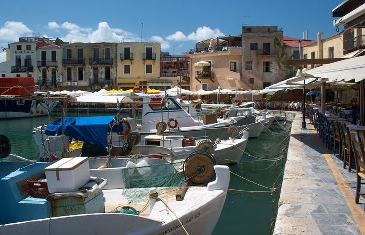 The Venetian Harbor of Rethymnon on Crete is one of the most picturesque areas of the old town.Fishing boats and yachts can be seen docked side by side. Dine at one of the  many fine restaurants and tavernas  which ring the harbor. Just one of the stops on Variety's Classical Greece Cruise http://www.varietycruises.com/english/variety/index/summer-cruises/1/classical-greece/63