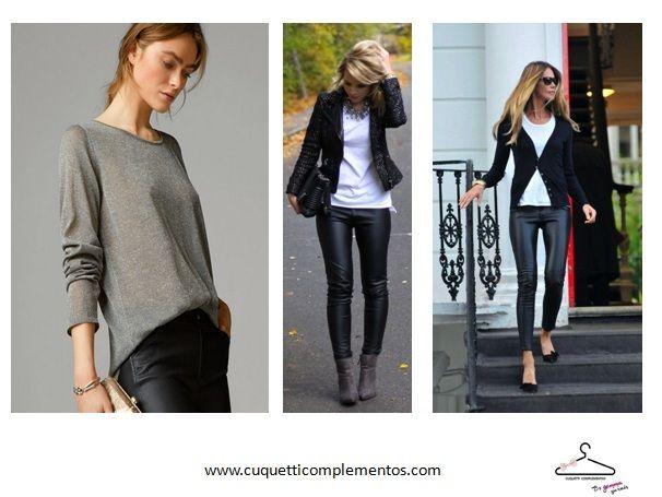 Cómo llevar unos pantalones de cuero. No te pierdas mi post de hoy! Seguro que te va a gustar. http://www.cuquetticomplementos.com