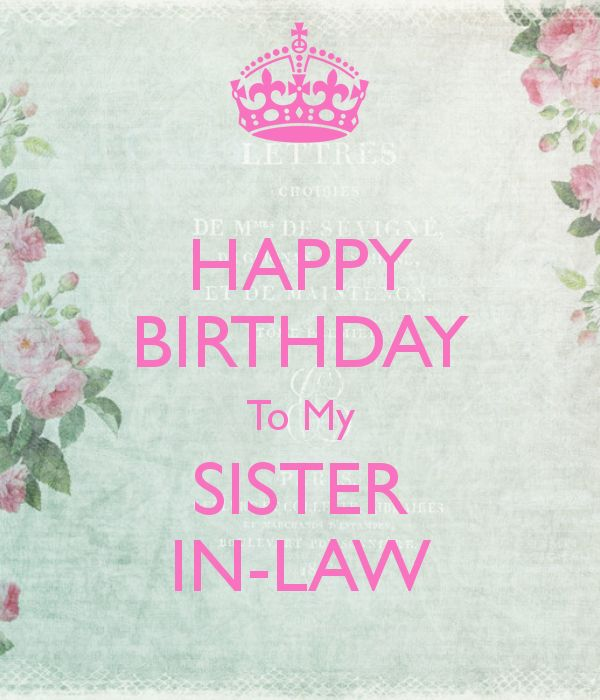 17 Best Images About Happy Birthday Sister N Law On