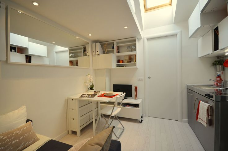 Come ristrutturare un mini appartamento - Il Design Quotidiano - Foto di Jule Hering