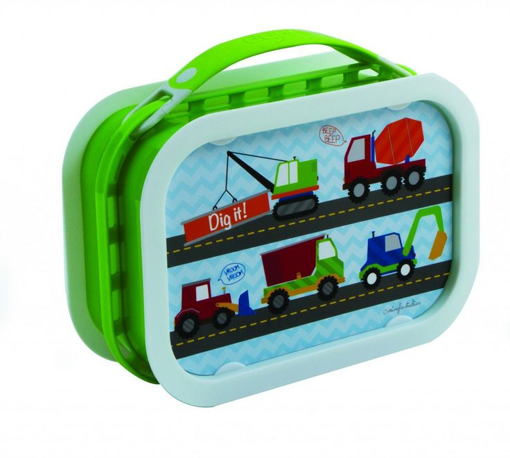 Creative Kidlets 101 - Yubo Lunchbox - Trucks (Green), $29.95 (http://www.creativekidlets101.com.au/out-about/lunchboxesyubo-lunchbox-trucks-green)