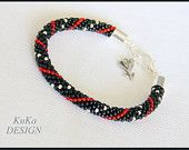 bracelet  Classic With a Touch of Red