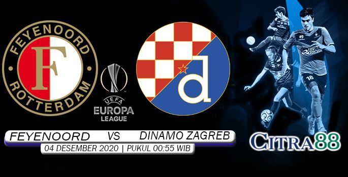 Prediksi Feyenoord Vs Dinamo Zagreb 4 Desember 2020 Di 2020 Zagreb 4 Desember Desember