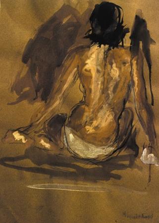 """Mina Papatheodorou Valyrakis: """"Back (Domna)"""", 1993"""