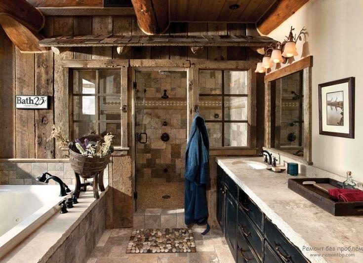 ванная комната в деревенском стиле: 25 тыс изображений найдено в Яндекс.Картинках