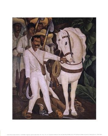 Agrarian Leader Zapata -