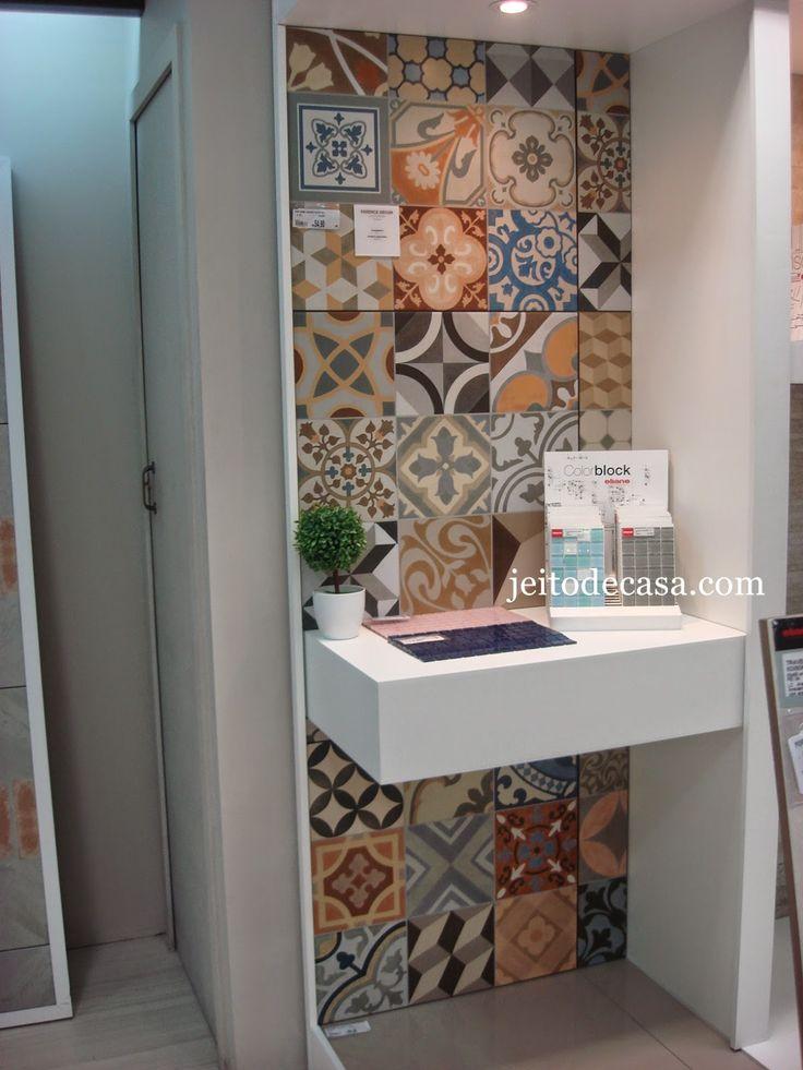 17 mejores ideas sobre cuartos de ba o de azulejos de for Azulejo hidraulico bano