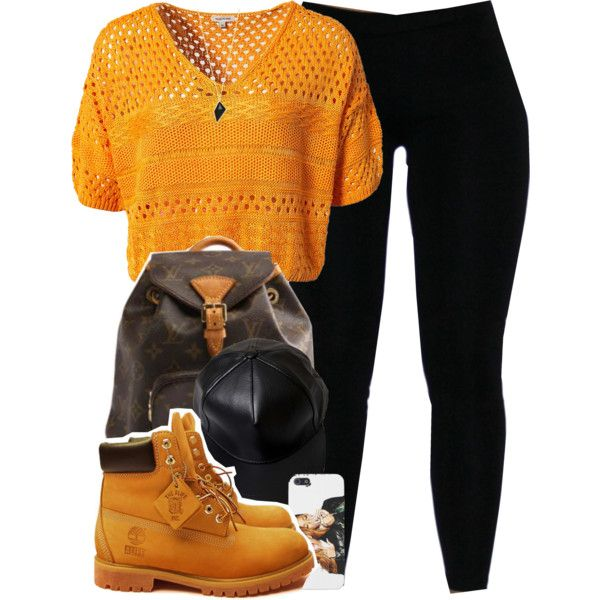 River Island Mix Stitch Crop. by cheerstostyle on Polyvore featuring River Island, Timberland, Belle Noel by Kim Kardashian and Louis Vuitton