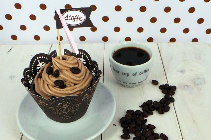 Il mio caffè è da mangiare oltre che da donare. Cupcake al caffè.