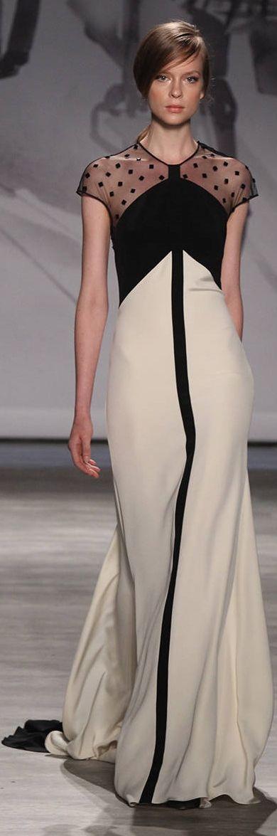 Платье - Lela Rose Spring 2015