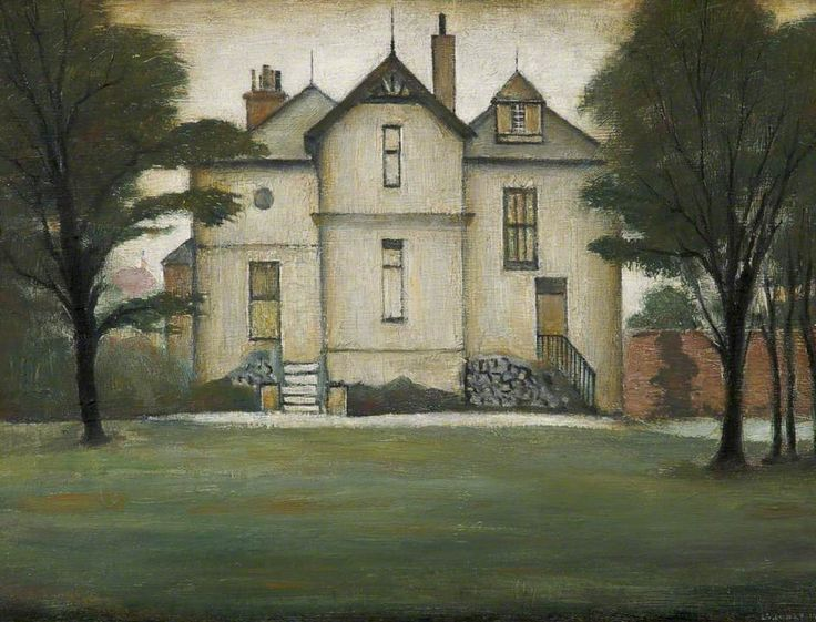 Portrait of a House Laurence Stephen Lowry