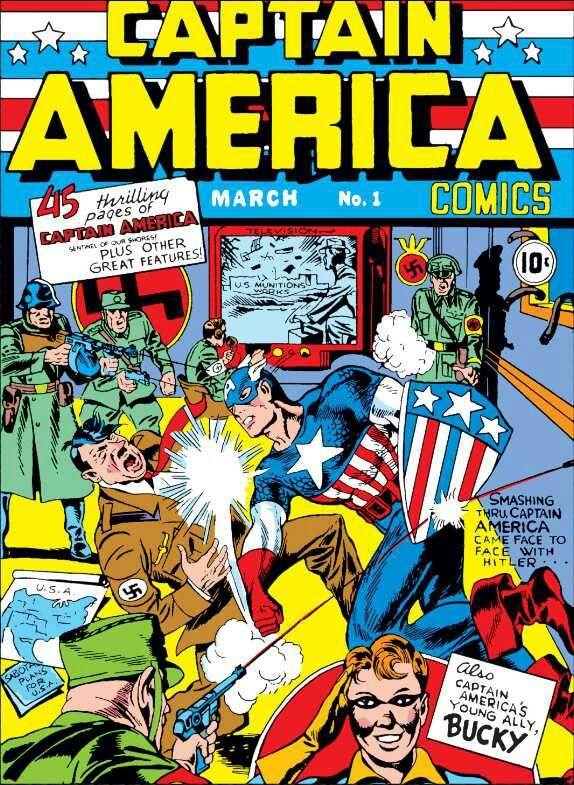 Captain America Comics #1 Marzo 1941