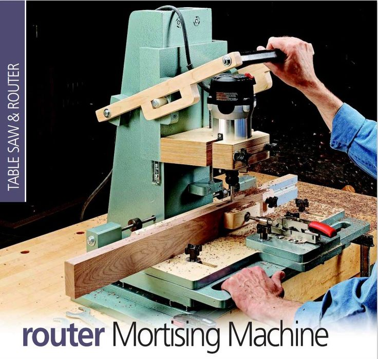 router mortising machine