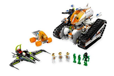 Lego Mars mission from ksstoys.com has instruction re: how to make the vehicle remote controlled with the Lego Power Functions, which are a good educational step from regular Lego models, to Lego robotics EV3.