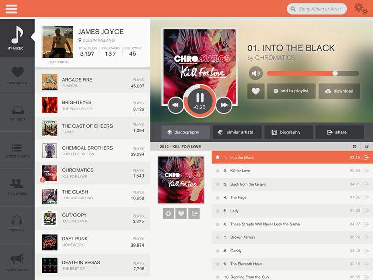 Music on the Go - iPad app