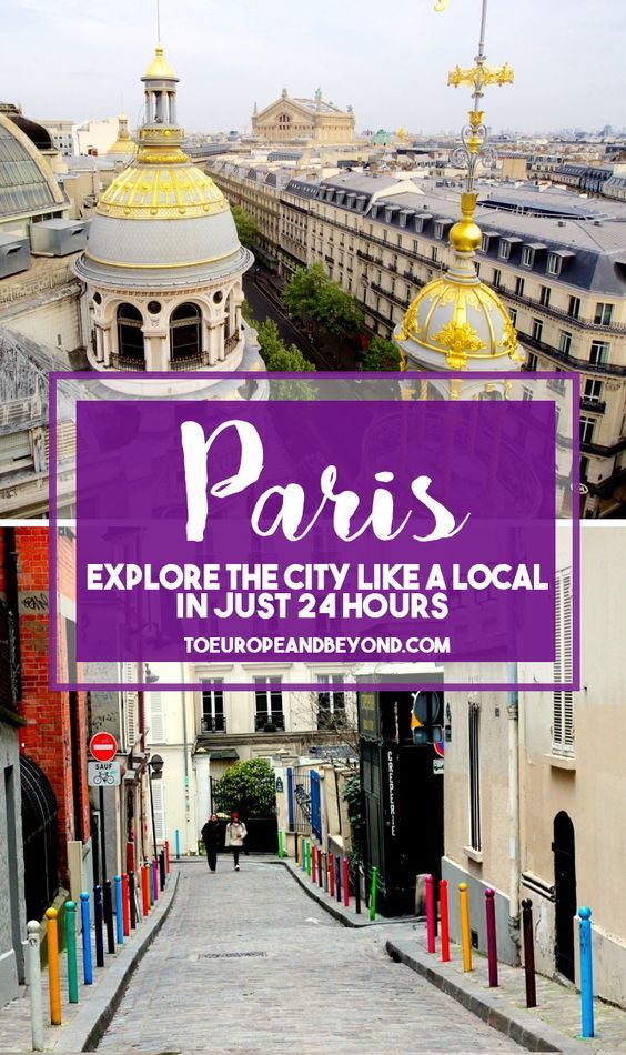 Where to eat, drink and play if you only have 24 hours in Paris http://toeuropeandbeyond.com/one-perfect-day-in-paris/ #Paris #travel