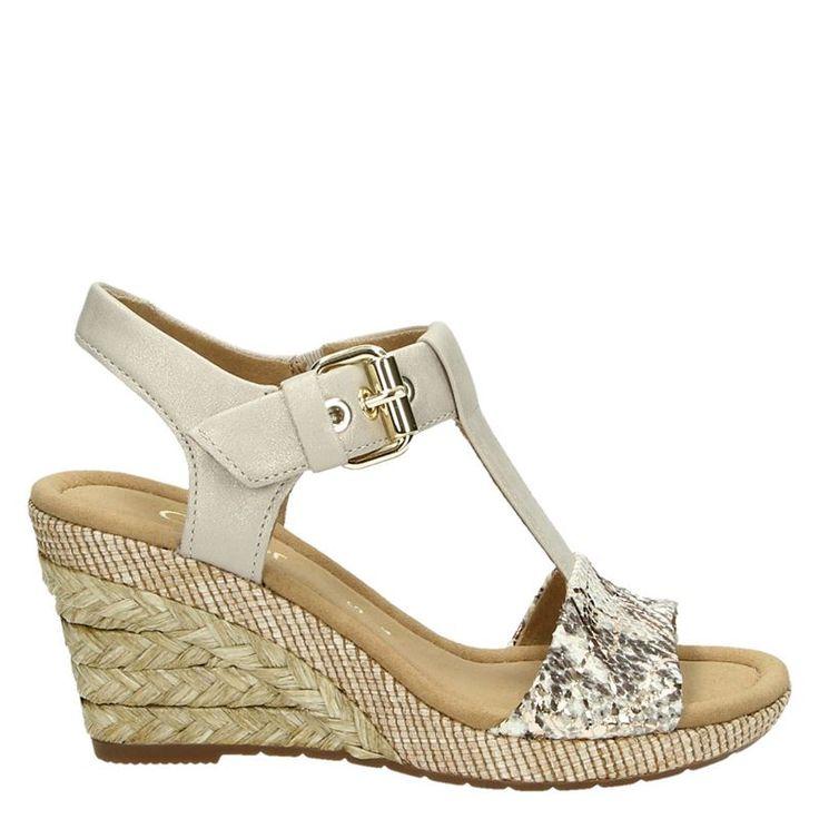Gabor dames sandalen beige