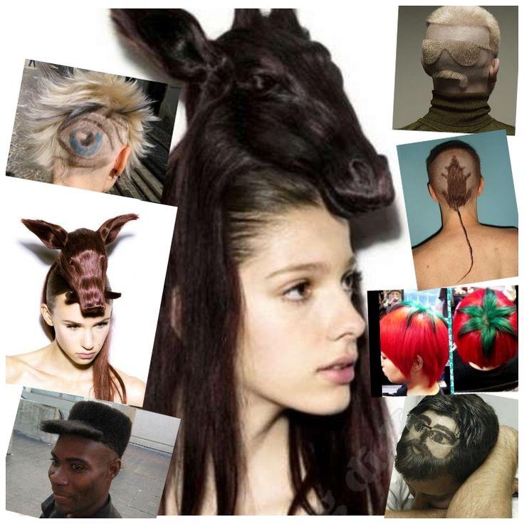 #capelli stravaganti