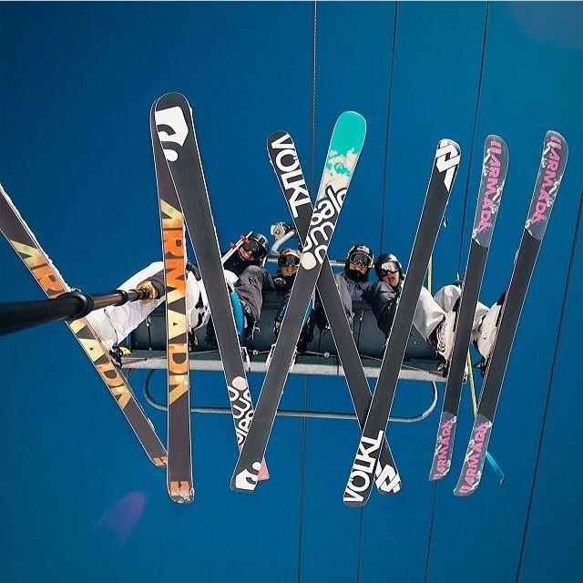 Skiing   Friends   GoPro // regram @Abe Vizcarra Vizcarra Kislevitz #Padgram