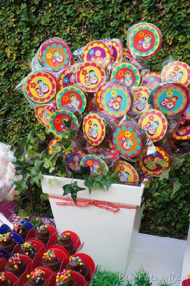 Festa infantil – Tema: Matrioska - Eu Faço a Festa