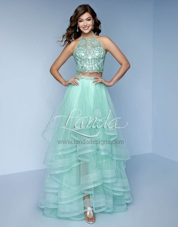 Two Piece Gorgeous Sky Blue Dress From Splash Available Soon At Ask Boutique Perfectdress