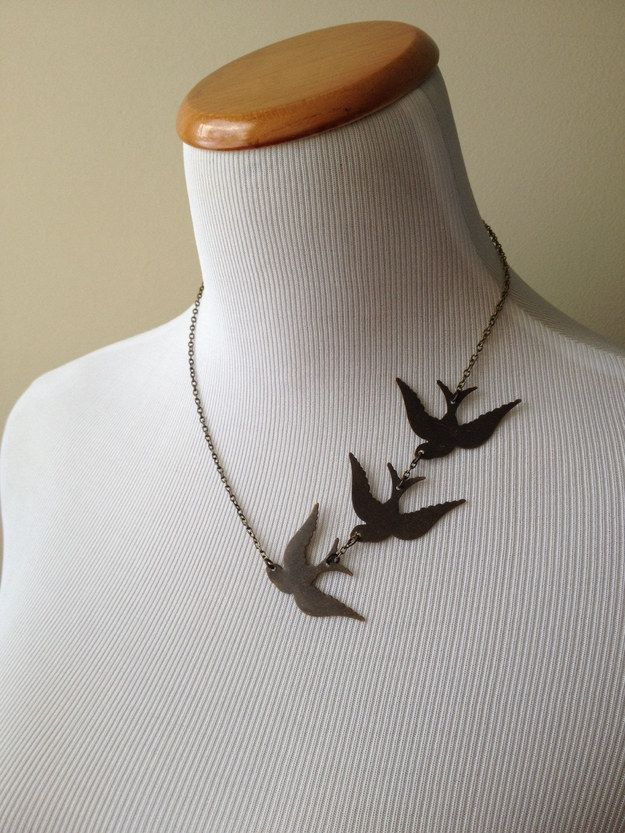 Divergent necklace ($32).   35 Impossibly Clever Pieces Of Jewelry Inspired By Books
