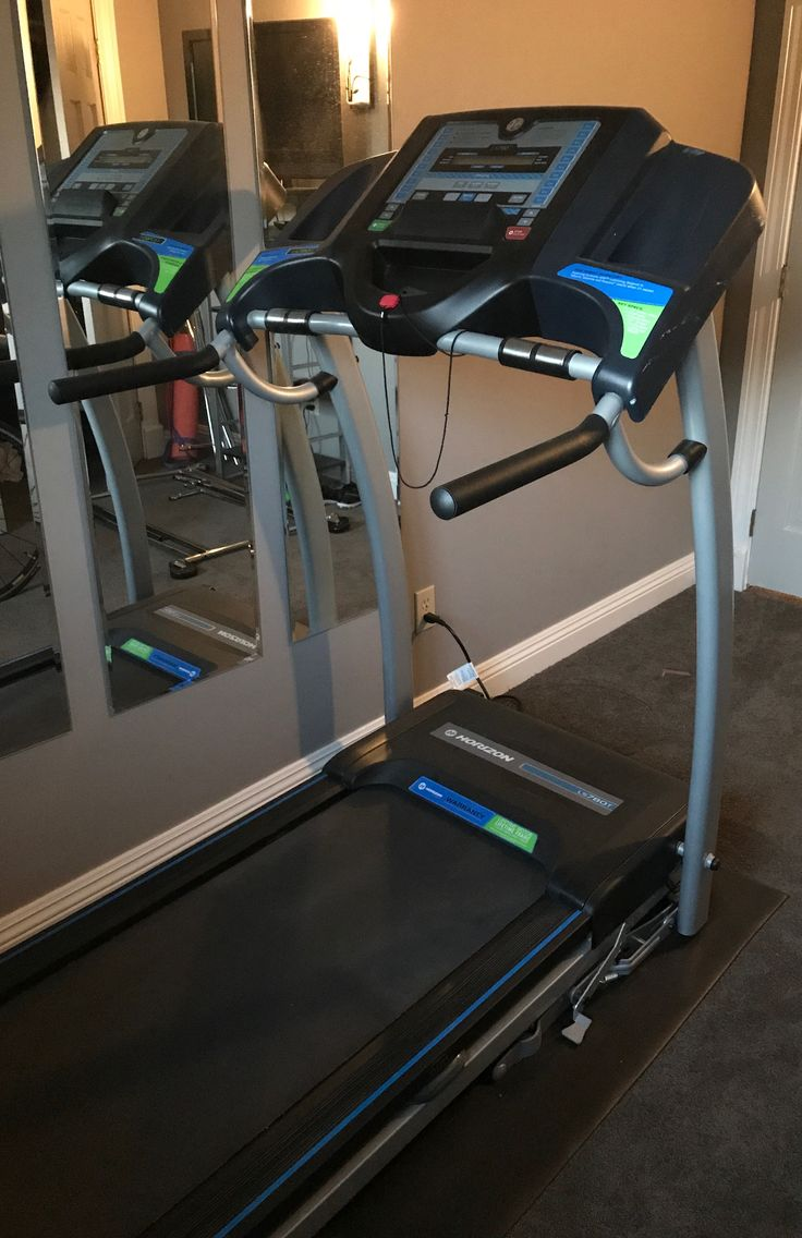 Horizon Fitness Treadmill - $200  Excellent condition, ability to fold