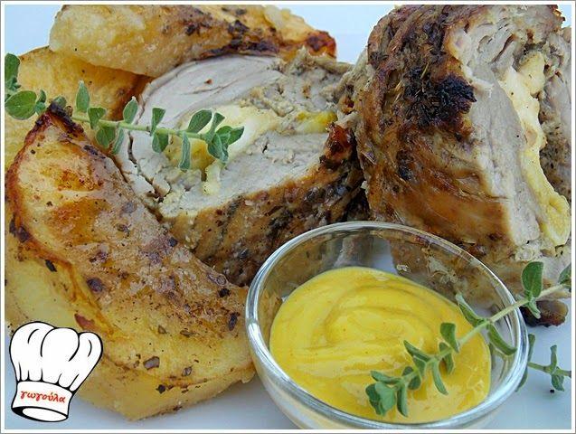 ΨΑΡΟΝΕΦΡΙ ΓΕΜΙΣΤΟ ΦΟΥΡΝΟΥ!!! | Νόστιμες Συνταγές της Γωγώς
