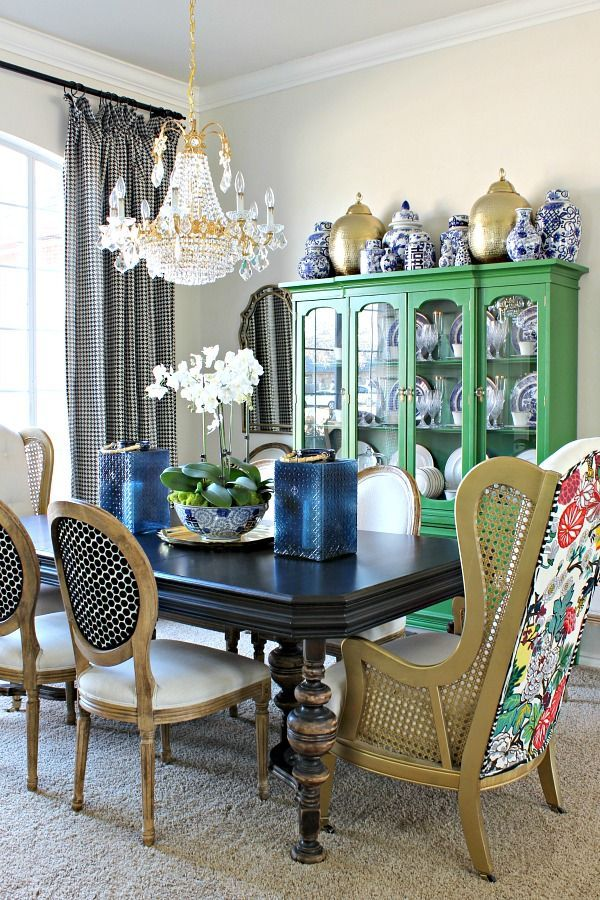 57 Best Home Dining Room Inspiration Images On Pinterest Beauteous Blue Green Dining Room Design Ideas