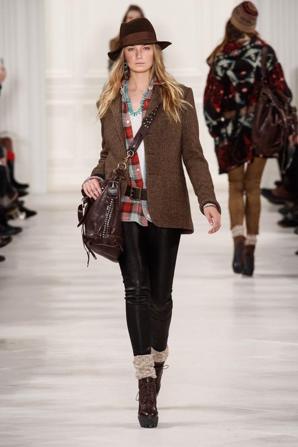 Pixelformula  Womenswear  Winter 2014 - 2015 Ready To Wear  New York Polo Ralph Lauren