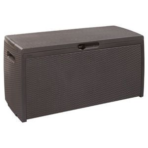 Rattan Style Outdoor Storage Deck Box 265L