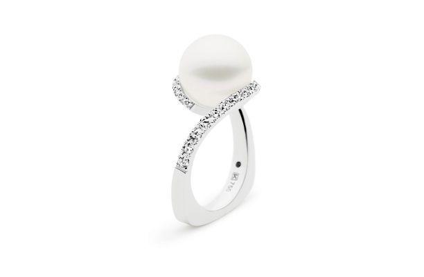 Kailis Pearls - Angelic Ring Blanc