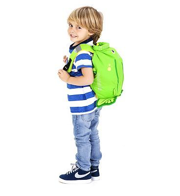 Trunki PaddlePak Ribbit the Frog 10152691 64 Advantage card points. PaddlePak is a water resistant backpack thats perfect for fun-filled days out and trips to the pool or beach. FREE Delivery on orders over 45 GBP. (Barcode EAN=5055192201105) http://www.MightGet.com/april-2017-1/trunki-paddlepak-ribbit-the-frog-10152691.asp