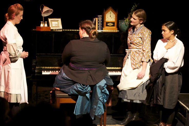 Annie, Mrs Daldry, Mrs Givings, Elizabeth.