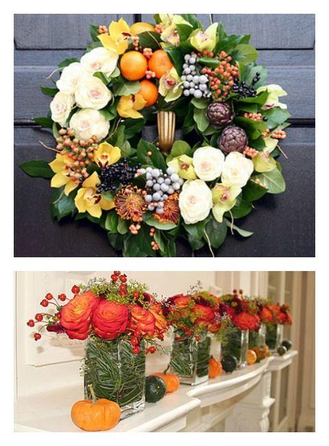 """A """"Fruit-Full"""" Wedding on itsabrideslife.com #wedding #fruitandflowercenterpieces #centerpieces #weddingcenterpieces #fruitweddingdecor"""