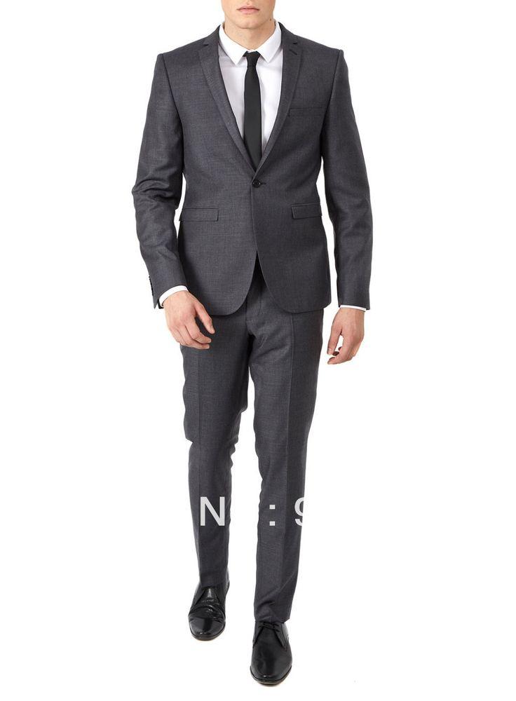 Высокое качество индивидуальные деловые мужские костюмы дизайн мужской костюмы из двух частей ( пальто + брюки ) ZB177 на заказ костюмы